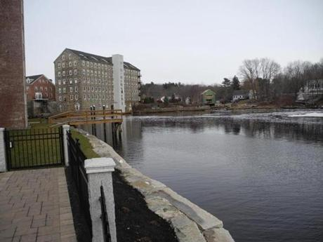 Newmarket, N.H., incorporated in 1727, is on the Lamprey River, named for John Lamprey, an early settler.